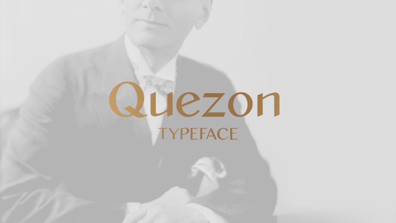 Kimchi Lee Quezon Typeface