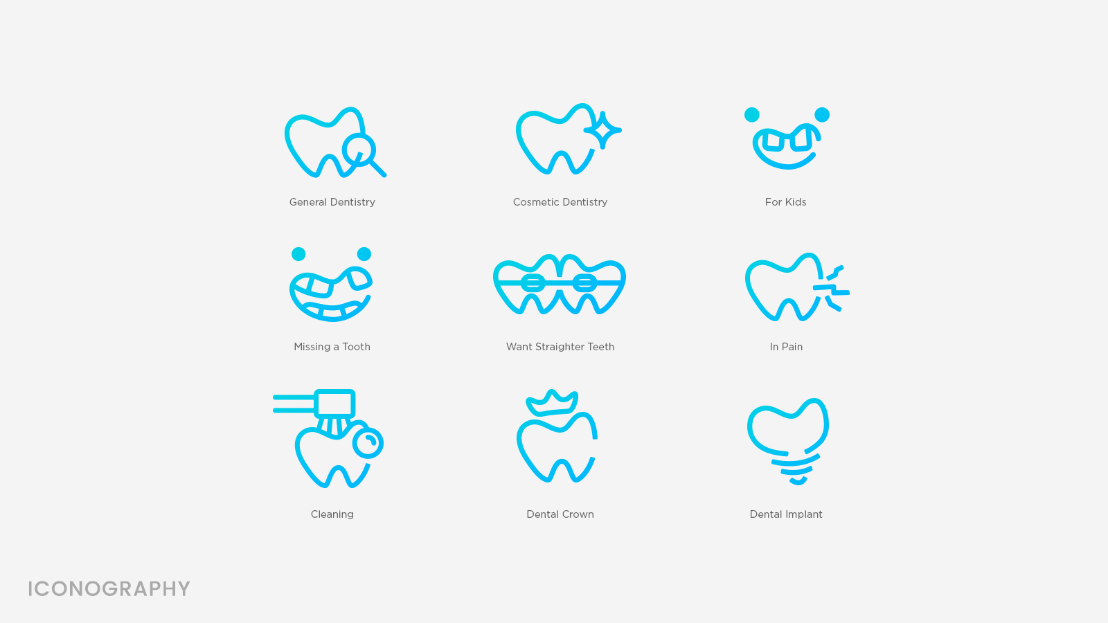 Metro Dental Iconography