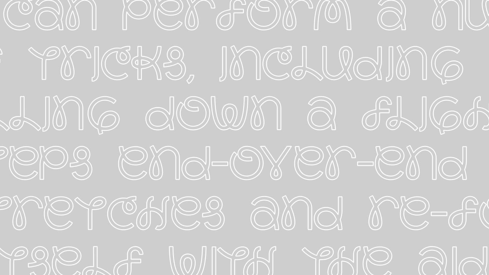 Slinkee Typeface